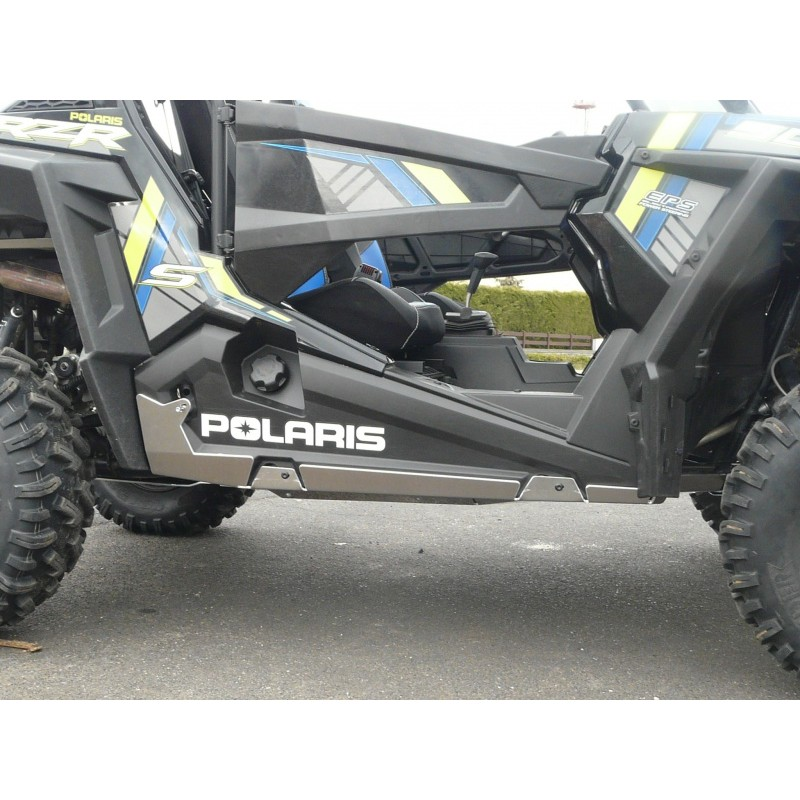 protection lat rale bas de caisse polaris 900 s 1000 rzr. Black Bedroom Furniture Sets. Home Design Ideas