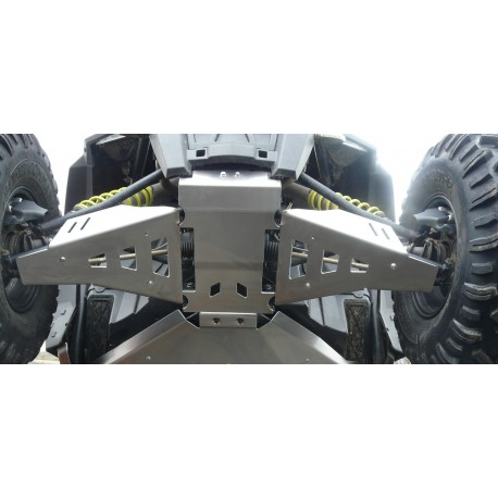 Protections de triangles AV Alu POLARIS 900 RZR S AM 2015-2016
