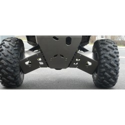 Protections Triangles AR Alu POLARIS 900 RZR S AM 2015-2016