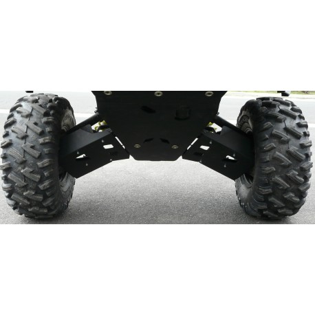 Protections Triangles AR Polyéthylène POLARIS 900 RZR S AM 2015-2016