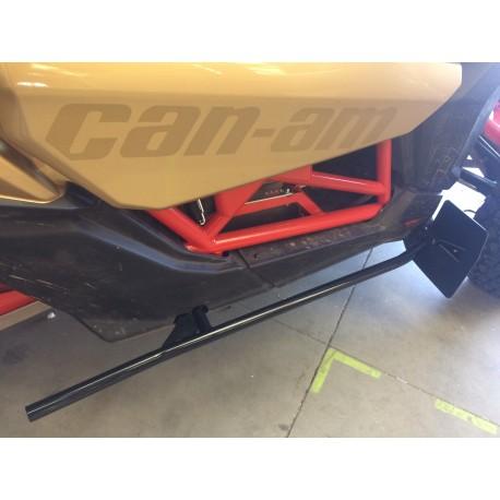 Nerfs bar ( la paire) + bavettes PHD intégrés CAN AM 1000 MAVERICK X3
