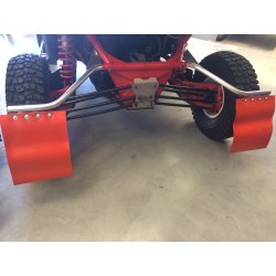 Supports AR de bavettes ( bavettes non fournies) CAN AM 1000 MAVERICK X3