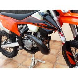 Protège pot carbone KTM EXC 250/300 TPI / HUSQVARNA 250/300 TE AM 2020