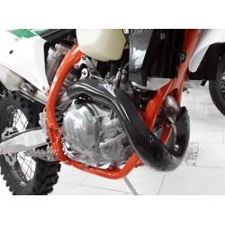 Protège collecteur carbone KTM 450/500 EXCF / HUSQVARNA 450 FE AM 2020-2021