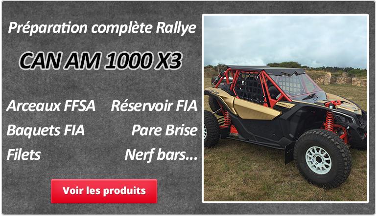 Préparation complète Rallye CAN AM 1000 X3