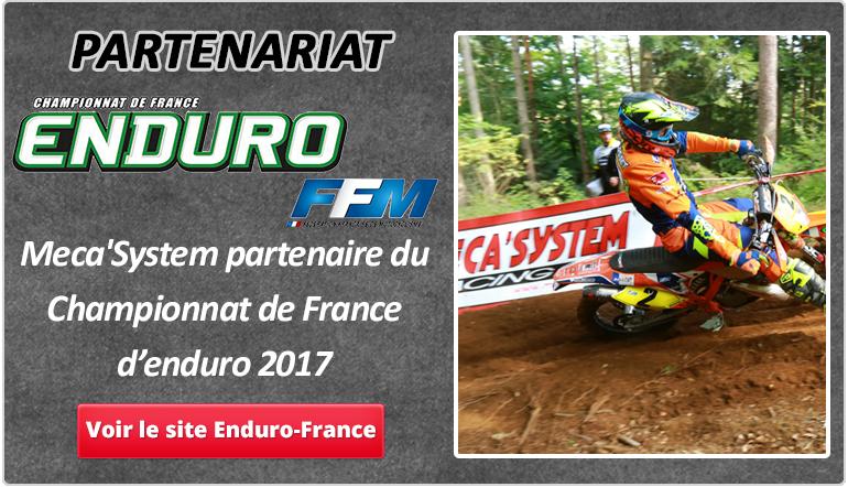 Partenaire du championnat de France d'enduro 2017